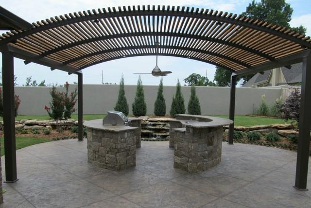 Steel Pergolas Manufacturer  http://www.r4engineers.com/ - by Structural Steel Fabrication, New Delhi