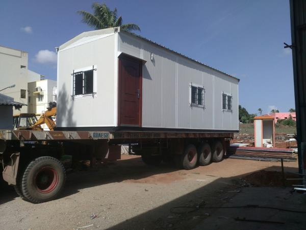 Portable Site Office in Coimbatore   We can deliver the product at Customized Specifications  Rust Free  Containers  No Need to do Painting    Security Cabins In Coimbatore Security Cabins In Pollachi Security Cabins In Tamilnadu Security C - by R2 Associates, Coimbatore