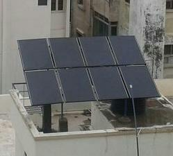 Solar Power Packs are systems which capture light energy from the Sun convert it into usable form of Electricity such as 230 / 415 VAC. Here Solar Power is stored in batteries. These systems are used where there are frequent power cuts.  So - by Abhishek Enterprises, Vadodara