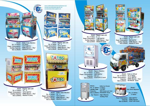 soda fountain machine manufacturer in india   we EVEREST CORPORATION provide all types of soda fountain machine manufacturer and supplier all of india as well as exports. - by Everest Fountain Soda Machine, Ahmedabad