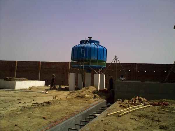 Bottle type Induced Draft Cooling tower design...  Most popular... OCEANIC brand... - by Oceanic Cooling Towers Pvt Ltd, New Delhi