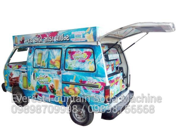 Maruti Van Soda Machine Vehicle Model - by Everest Fountain Soda Machine, Ahmedabad