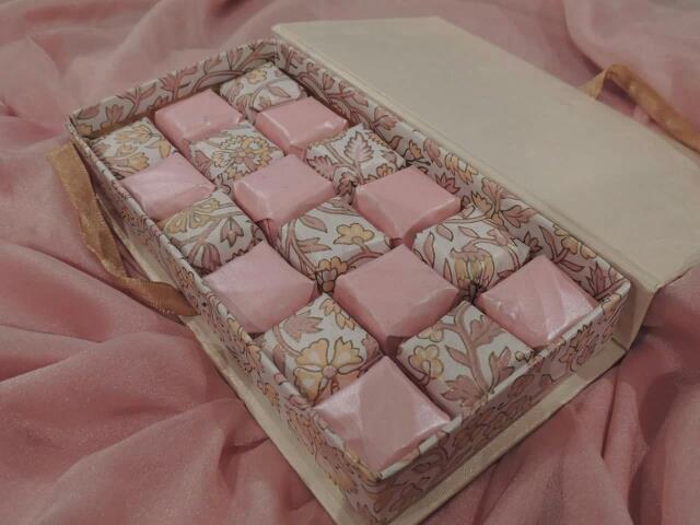 The Pink Beauty (Inside Box) - by Sweet Indulgence, Mumbai