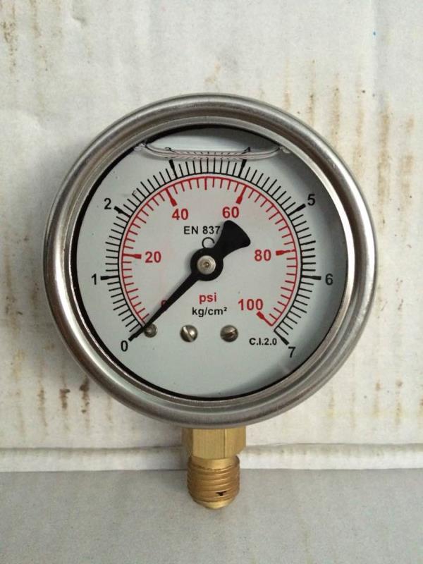 All type of ss (stainless steel)pressure gauge in Rajkot in Gujarat  - by Nilesh Instruments Industries, Rajkot