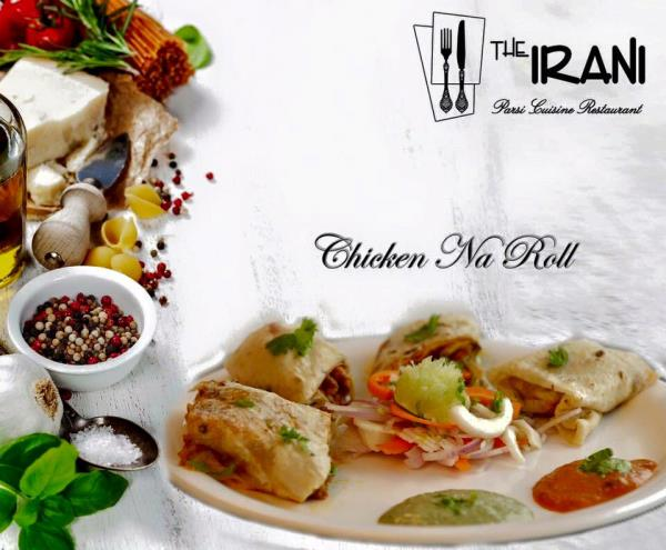 We are Happy to Presenting our Special Dish Chicken Na Roll, By IRANI Restaurant - by The IRANI Parsi Cuisine Restaurant, Surat