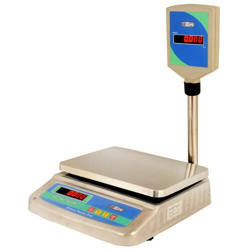 Steel Body We are counted among the prominent manufacturers of quality range of Table Top Weighing Machine. Offered in various sizes and models our range successfully fulfills the varied needs of clients. We also custom-made our range in ac - by K .Roy&Co., Kolkata