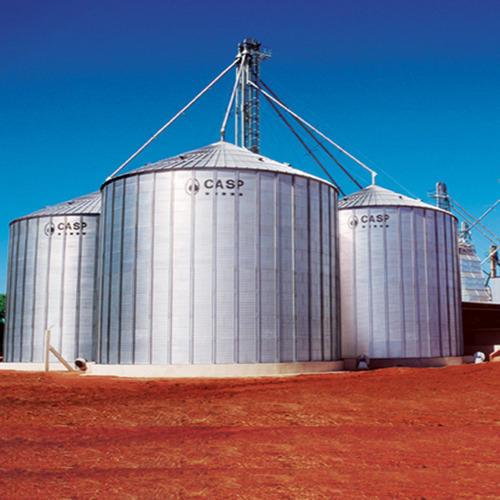 GRAIN STORAGE SILO GRAIN STORAGE SILO MANUFACTURER IN CHENNAI - by Harvest International, Chennai