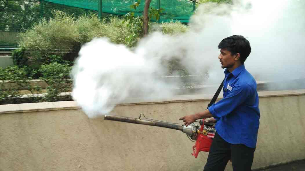 Fogging Treatment at Majiwada site  - by Maharashtra Pest Control, Thane West