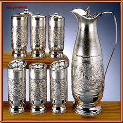 Silver Utensils  Silver+Utensils  We have a huge collection of pure silver utensils, exclusive collection of all types silver articles. These are appreciated for elegant designs & finish. - by PRATEEK JWELLERS, Udaipur
