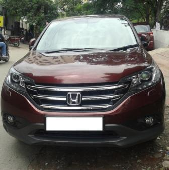 HONDA CR V 2.4 AT:MODEL 02/2015, KM 5000, COLOUR RED, FUEL PETROL, PRICE 26, 50, 000 NEG. - by Nani Used Cars, Hyderabad