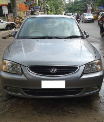 HYUNDAI ACCENT CRDI:MODEL 09/2006, KM 91471, COLOUR GREY, FUEL DIESEL, PRICE 2, 50, 000 NEG. - by Nani Used Cars, Hyderabad