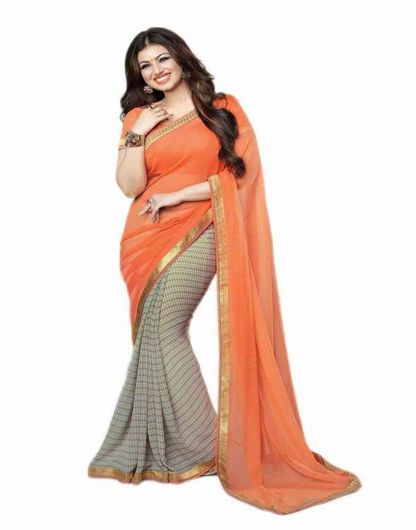 Designer Georgette saree at kalkaji, Rubina Collections  - by Rubina Collections, Delhi