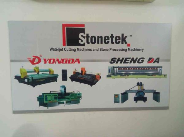 we also supply granite polish machine in rashthan  - by Stonetek India, Ahmedabad