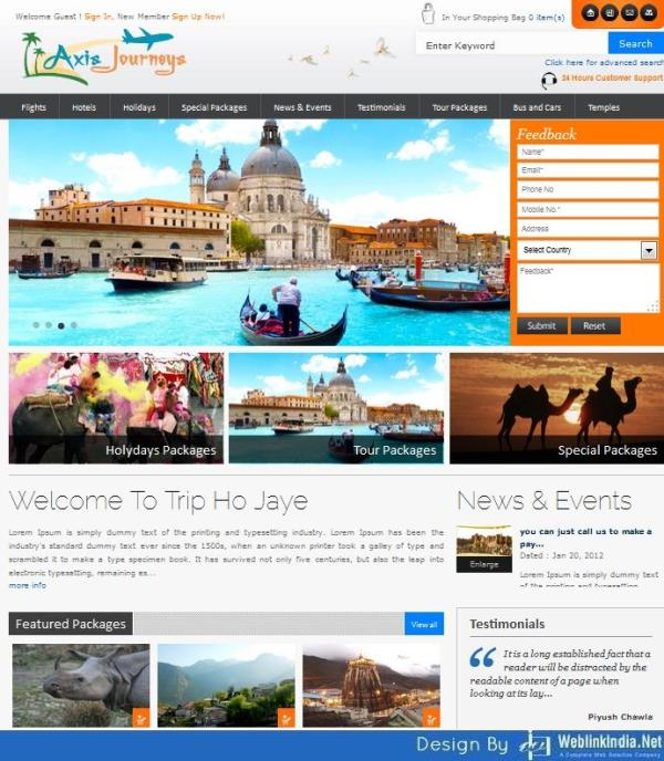 """About Us Axis Journeys is a premium travel company renowned for its inimitable services creating a new term in the industry """"Personalized Professionalism"""". Holiday Planet started off its remarkable journey in the vast travel and tourism in - by Axis Journeys, Udaipur"""