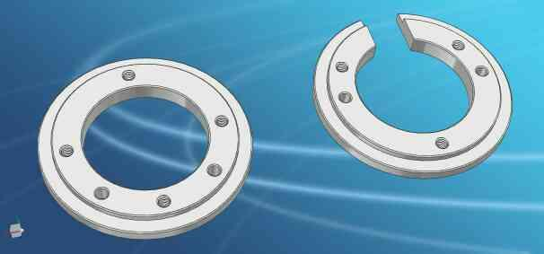 V-4 Stud Ring Set  - by Matrix Techno Industries, Rajkot