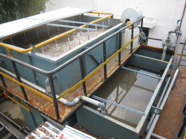 Pollution Control Equipments  We (Eco Charm) are one of the leading manufacturers of Pollution Control Systems in India. We have designed the low cost basic model Sewage Treatment Plant. Sewage treatment is the process of removing contamina - by ECO  CHARM, Chennai