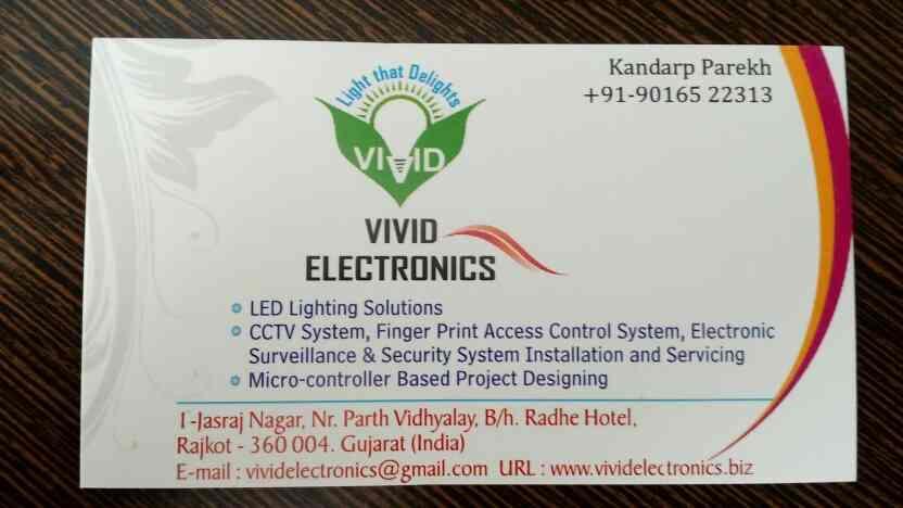 we are leading supplier of LED lights, led panels , industrial led lights in rajkot - by Vivid Electronics, Rajkot