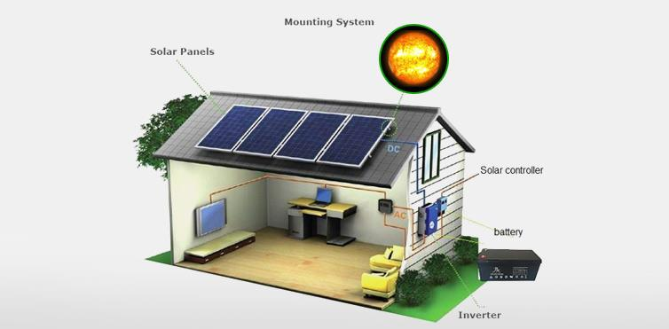 Off grid solar power systems in Delhi  For More Information http://suryasolar.co.in/ - by Surya Solar and Power Company, Central Delhi