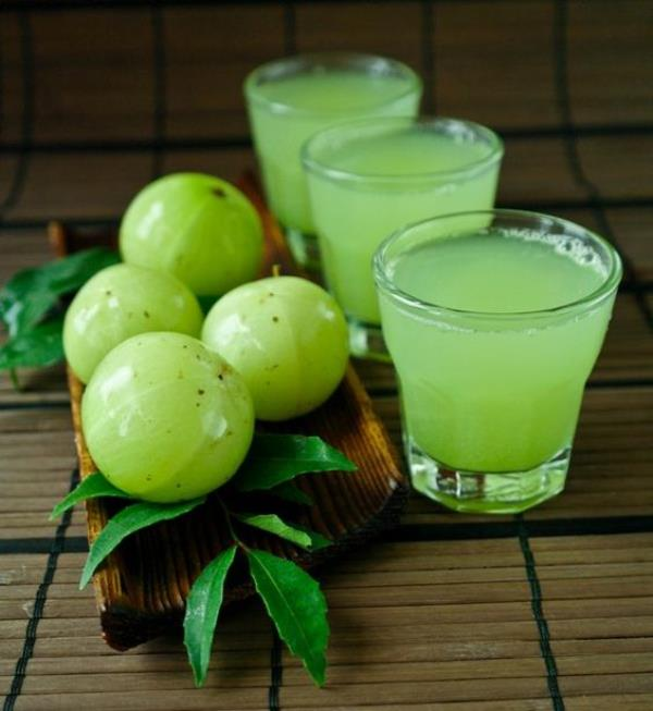Organic Vegetable Juices in Chennai  Flu Season has started and try to increase your immunity by consuming our Fresh Herbal Juices delivered to your home along with Organic Vegetables and Organic Fruits.  Amla-Currry Leaves Juice 250 ml   T - by TAPOVANA ORGANIC FARMS, Chennai