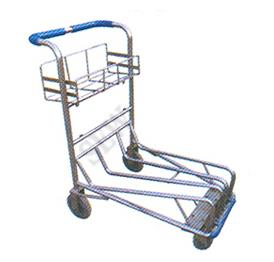 Passenger Baggage Trolley In Chennai    Aluminium made of HE 30 grade T6 temper HINDALCO make.    Description:  It is made out of SS or MS square tube wit bottom provided with wheels for smooth operation . It withstand capacity of 200 KGS   - by SEKAR ENGINEERING WORKS 9791034320, Chennai