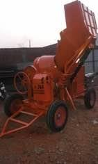 Concrete mixer with hopper  We have wide range of products in concrete mixer machine and construction machinery products in Ahmedabad. - by J & K Enterprise, Ahmedabad
