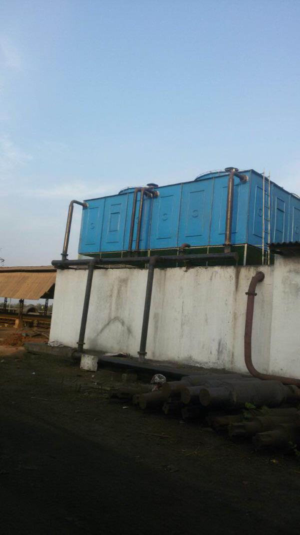 Cuboid cooling system  - by Oceanic Cooling Towers Pvt Ltd, New Delhi