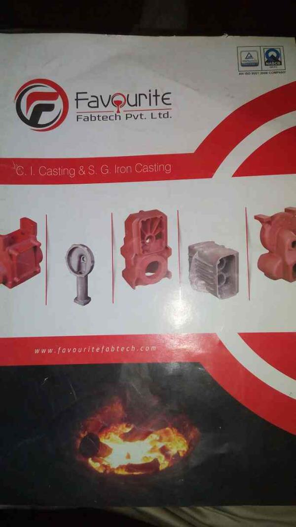There are many products of CI and SG Iron Casting in Rajkot. We have also laboratory testing works for research and development. - by Favorite Fabtech , Rajkot