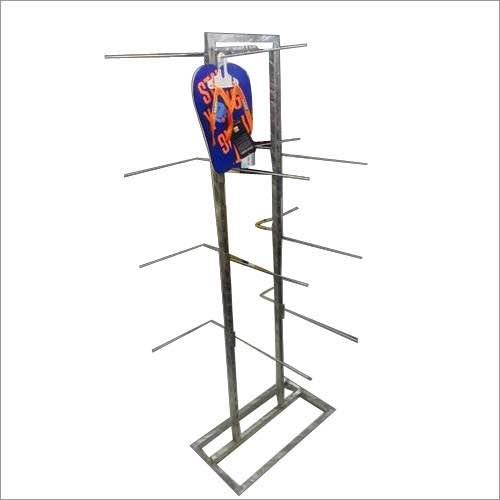 Sleeper stand Footware stands  Steel footware stand Steel stand for chappals Steel sleepers stand - by Hi Tech Hangers & Fixtures, Delhi