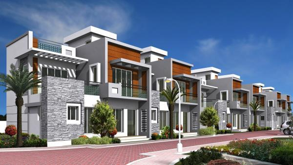 Compact Luxury Villas for sale in chennai  We built Villas in Compact size but with elegant design and good quality material with Swimming Pool - by INDUS FOUNDATIONS- Sea Shells Enclave ...For Booking Call Us @ 9566244221, Chennai