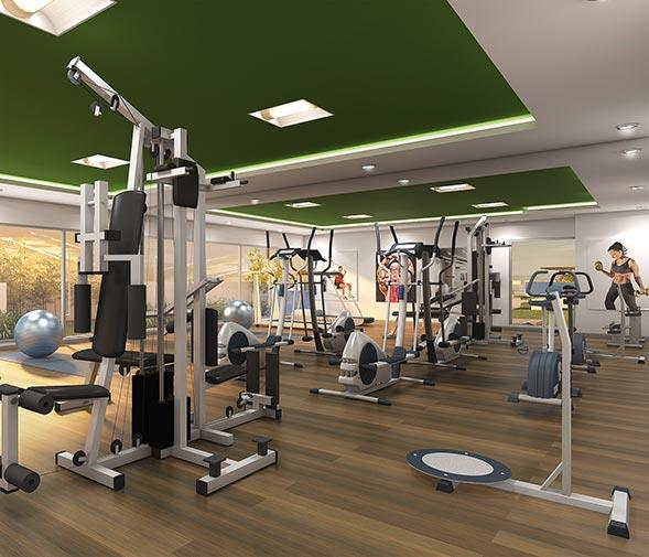 GYM At our high-tech and well-equipped gymnasium, you will always remain motivated to work out.  GARDEN Enrich your evenings by spending quality time with your loved ones at our exquisite terrace garden. - by Bbcl, Chennai