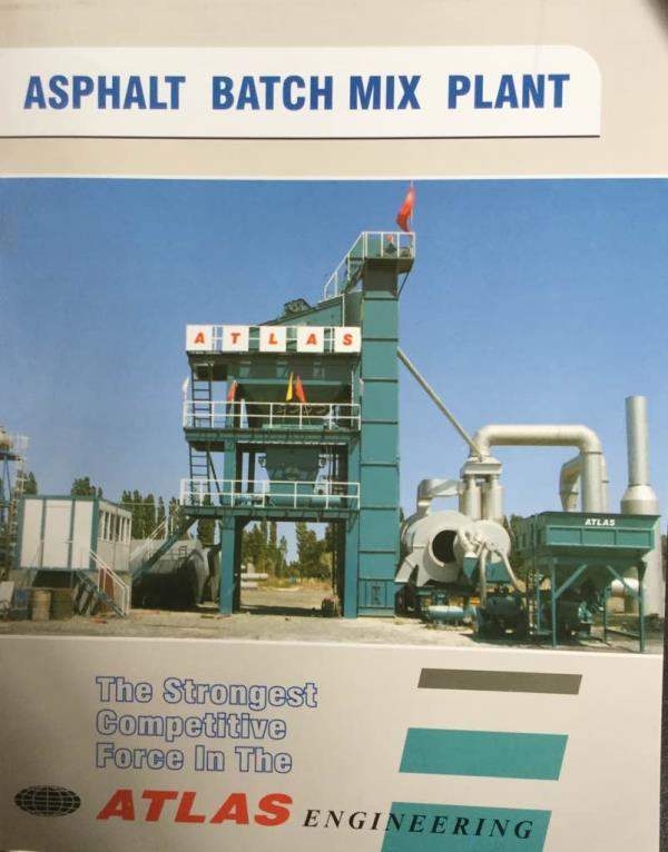 Asphalt Batch Mix Plants Manufacturers   We have wide range of products in asphalt mix plant in Ahmedabad Gujarat India  - by ATLAS ENGINEERING, Ahmedabad