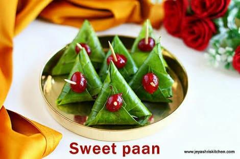Sweet Paan available in bangaore - by Raju Paan Shop, Bangalore
