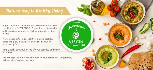 Pure Virgin Coconut Oil Suppliers In Chennai  Virgin Coconut Oil is very useful for weight loss. It contains short and medium-chain fatty acids that help in taking off excessive weight and helps to reduce abdominal obesity in women. Virgin  - by Ambal Exports, Coimbatore