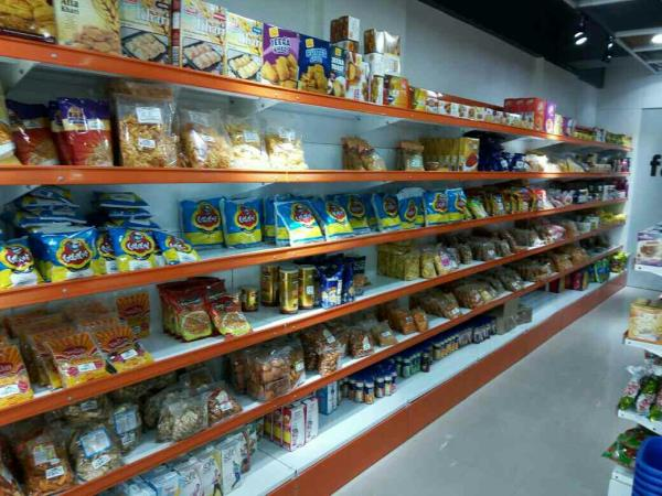 Custom Market Shelving Systems can be designed according to specific markets.Market Shelving Systems make showcasing of products represantable and nice looking way. - by KRISHNA INTERIO, Ahmedabad