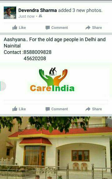 elderly parents care at Home - by Care Nursing Bureau, New Delhi