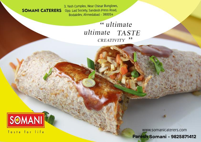 somani caterers ahmedabdad gujarat wedding catering corporate catering  - by SOMANI CATERERS, Ahmedabad