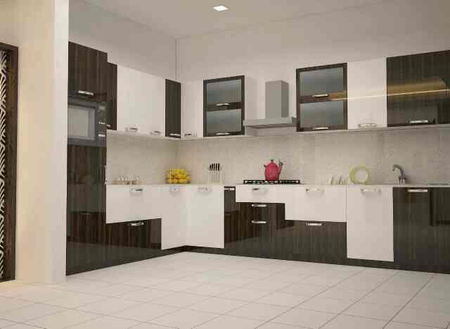 best modular kitchen manufacturers near malleshwaram  - by Aakruthi Interiors, Bangalore