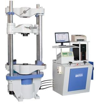We are suppliers  of Universal Testing Machine of various types  and 1KN to 2500 KN (10 Kgf to 250 Tons) Capacities.  For more details pls log on www.krutam.com - by Krutam Techno Solutions Pvt Ltd, Vadodara