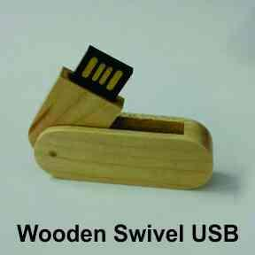 wooden usb pendrive. Swivel pendrive.  usb 2.0  available in 4gb, 8gb and 16gb   moq 100 pcs - by Jainex USB And Pendrives Wholesalers / Manufacturers Mumbai, Mumbai