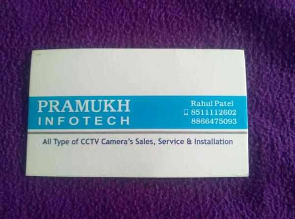 we Pramukh Infotech one of the best cctv dealer in Babunagar Ahmadabad  - by Pramukh Infotech, Ahmedabad