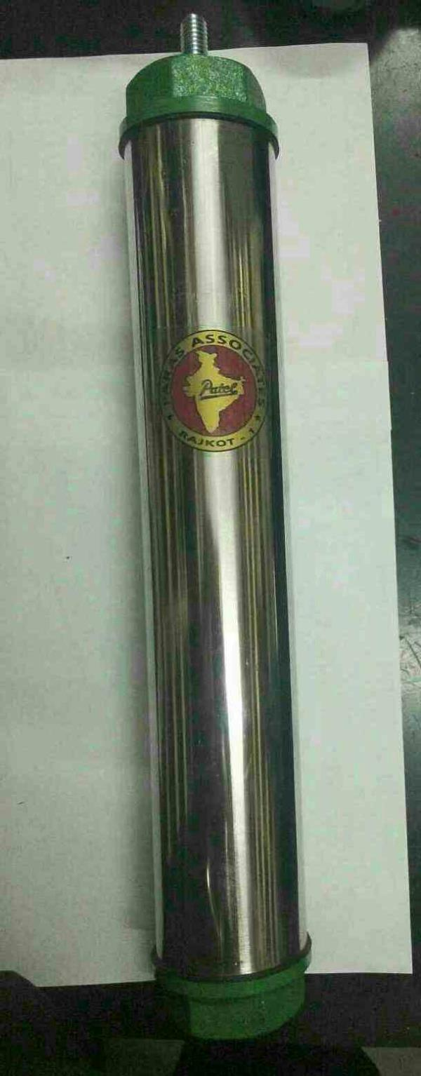 Stainless Steel Hand Pump Cylinder  We are Stainless Steel Hand Pump Cylinder. We have range of agricultural products according to requirements of customers. It should be used in agriculture pump. Our customers are happy due to fast deliver - by Paras Associates, Rajkot