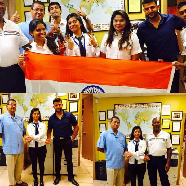 Commercial Pilot Training in India  Congratulations Neha on completing FAA Instrument Rating at Dean International in Miami.   More details at www.stareducare.com - by Star Educare - Flight Training Academy, New Delhi
