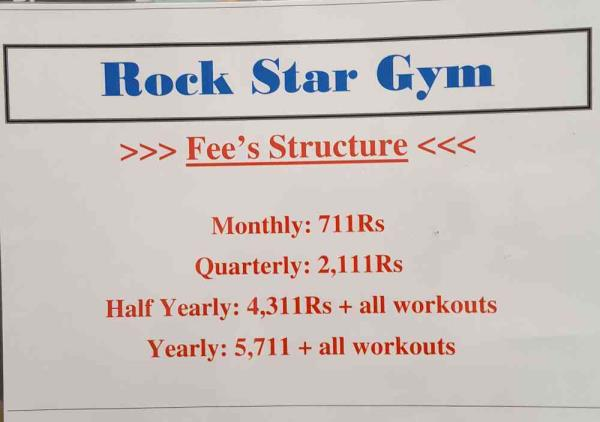 *FIT BODY MEANS FIT MIND*  Hurry up!   Join us today @ Rockstar Gym Maninagar Ahmedabad  The best gym provider in Ahmedabad   We are equipped with all the machines required for your work out.   We believe in RESULTS - Just give us a chance  - by Rockstar Gym, Ahmedabad