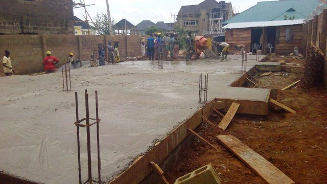 #Ilorin Project: Over site concrete work - by Greyfield Integrated Services, Lagos