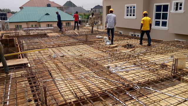 #Ilorin Project: Suspended Slab work - by Greyfield Integrated Services, Lagos