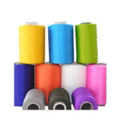 PP Yarn  Owing to the years of industrial experience, we have been able to serve our valued clients with a wide range of Polypropylene Yarn. Perfect for spinning, weaving, knitting and various others purposes, this yarn is designed by our e - by Jagadamba Lace Works, Ahmedabad