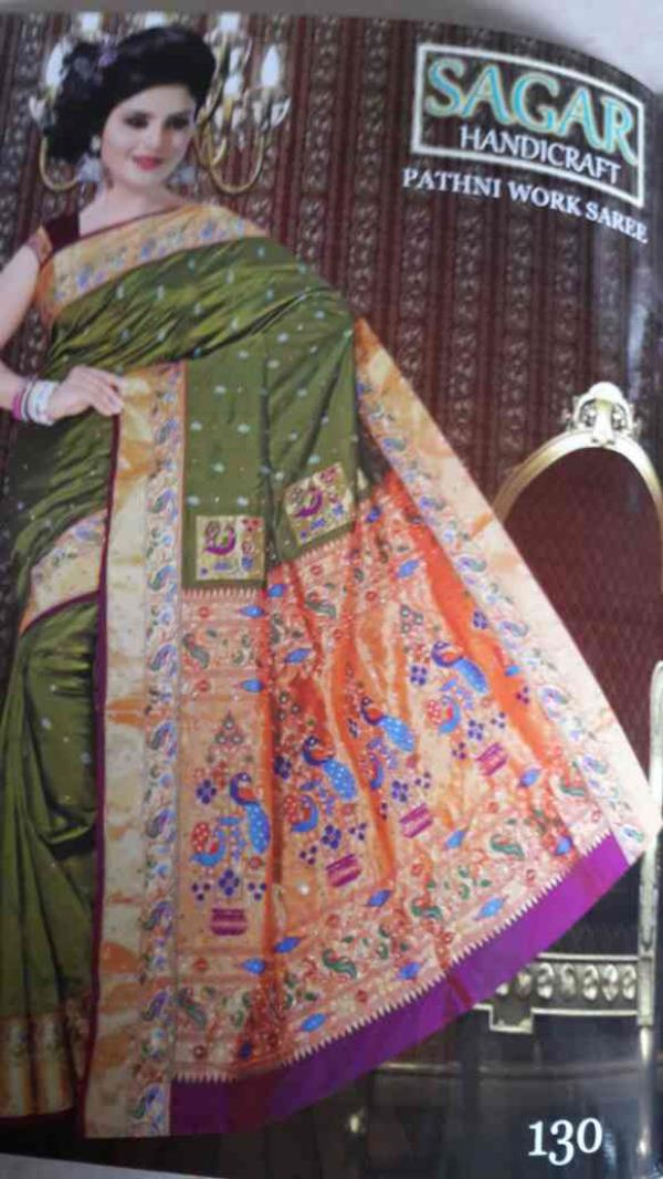 Hand work pathhni saree rechhpellu - by Sagar Handicraft, Rajkot