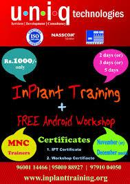 Inplant Training In Chennai #inplant training in chennai  Inplant Training In Coimbatore #inplant training in coimbatore  Inplant Training In T Nagar #inplant training in tnagar  Best Inplant Training In Chennai #best inplant training in ch - by Uniq Technologies Call Us :9791004050, Chennai