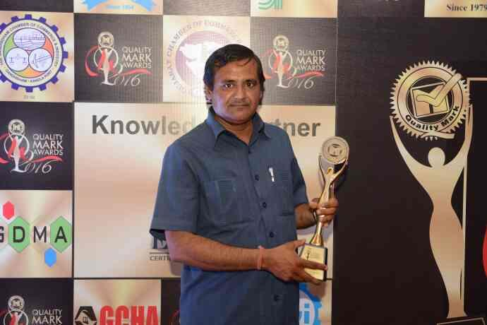 MAGIC POWER PRODUCTS QUALITY MARK AWARD - by Magic Power Products, Rajkot