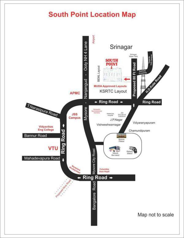 MUDA appd site near JP nagar Mysore.. Imm registration - by GSS Project Consultant (P) Ltd, Mysore